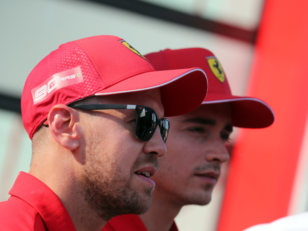 Charles Leclerc says Sebastian Vettel shouldn't have moved left during their crash in Brazil, and he knows it.