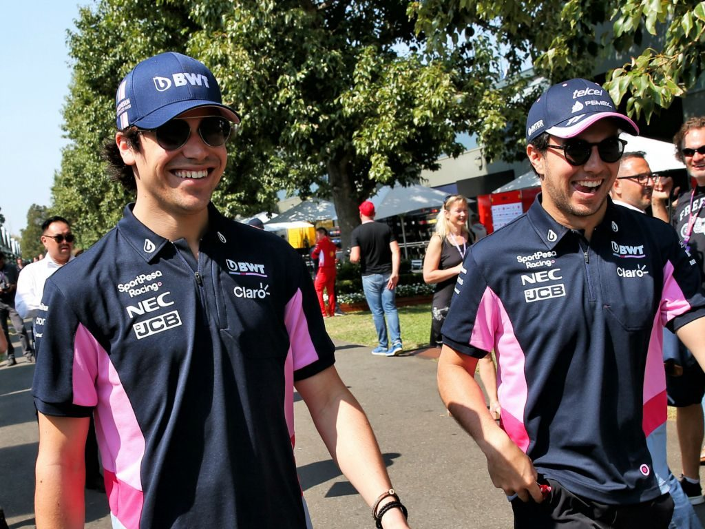 Lance Stroll praises Sergio Perez influence