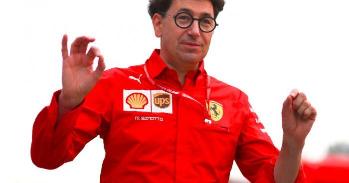 Ferrari principal Mattia Binotto