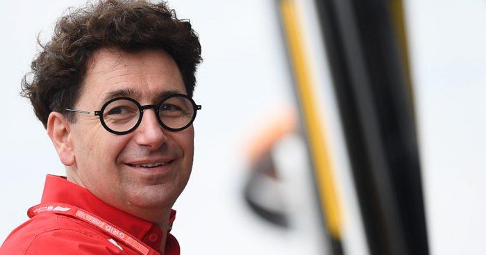 Mattia Binotto admits that the FIA forced them to pit Charles Leclerc at Suzuka.