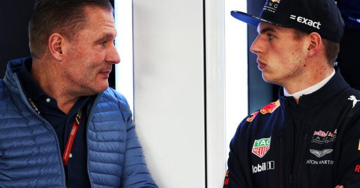 Jos Verstappen and Max Verstappen