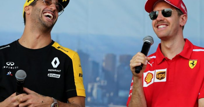 Daniel Ricciardo believes Sebastian Vettel needs just one good race to bounce back from his slump.