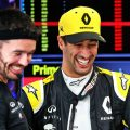 """Daniel Ricciardo has praised Renault for making a """"big step"""" with their power unit, joking that he designed it."""