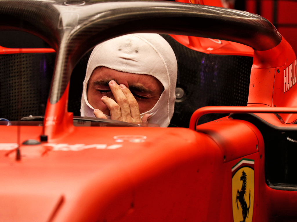 Charles Leclerc starting to understand Ferrari's Singapore strategy.