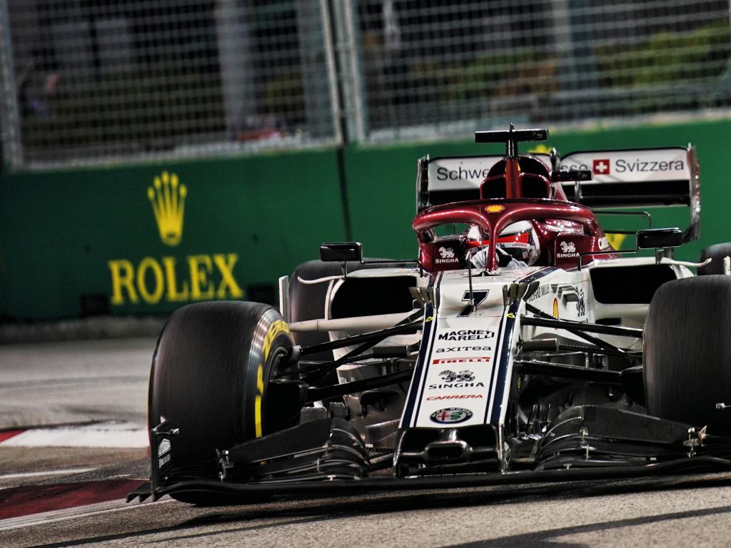 Alfa Romeo powerless in Singapore