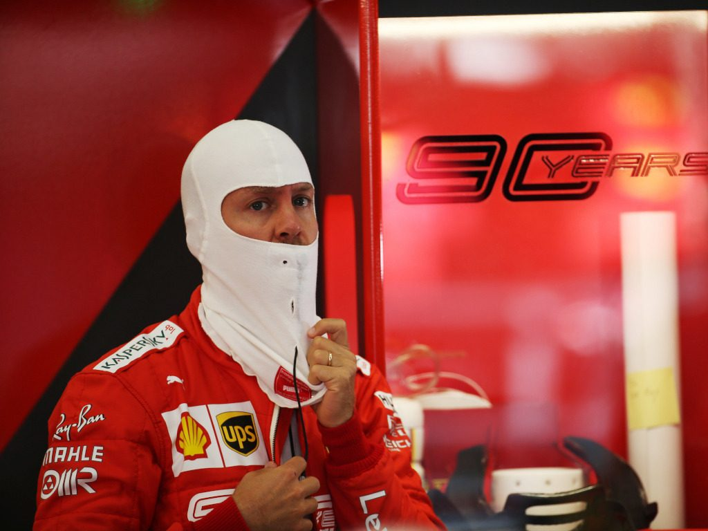 Sebastian Vettel warning