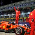 Charles Leclerc pole in Singapore