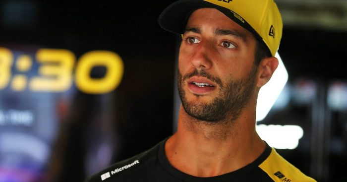 Daniel Ricciardo excluded from Singapore qualifying