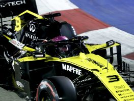 Revised Singapore GP grid, Daniel Ricciardo to the rear