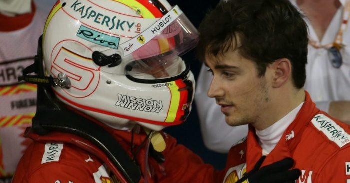 Charles Leclerc and Sebastian Vettel will use team radio less from now on.