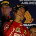 Sebastian Vettel wins Singapore Grand Prix