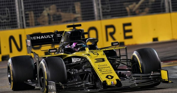 "Ricciardo: Giovinazzi crash ""destroyed"" Singapore race."