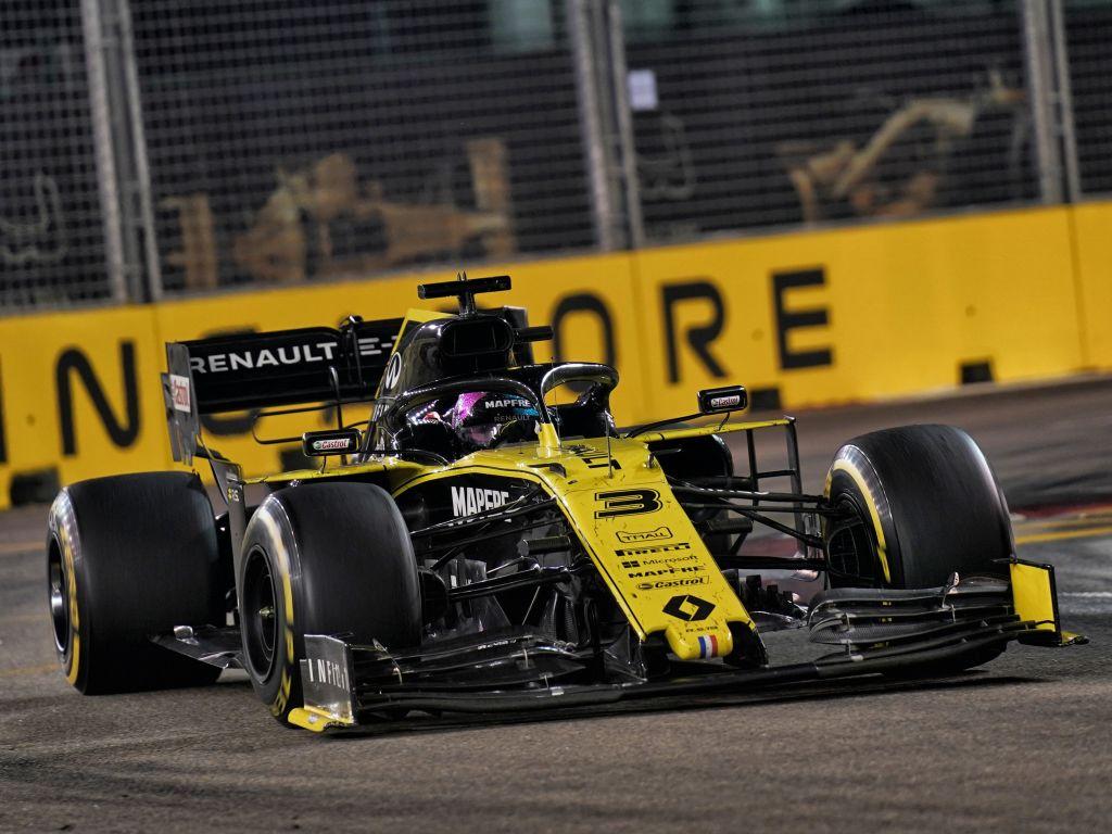 "Ricciardo: Giovinazzi crash ""destroyed"" Singapore race."