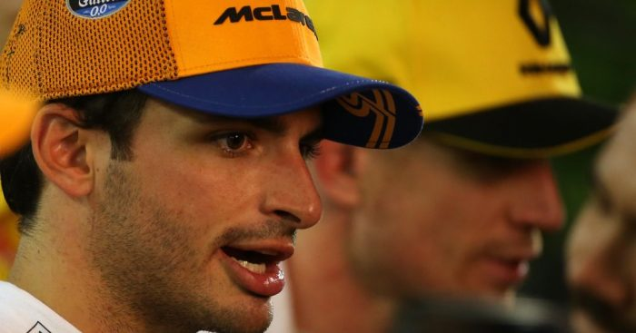 Carlos Sainz is frustrated with Nico Hulkenberg after the crash on Lap 1 that ruined their Singapore GP's.
