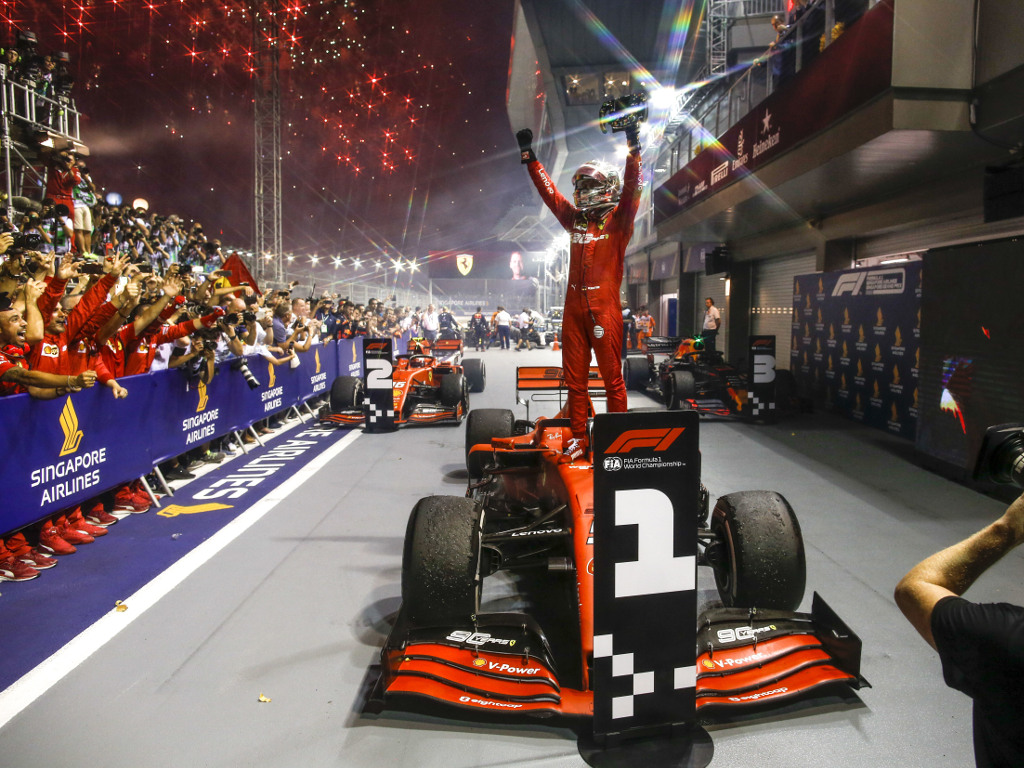 Conclusions from the Singapore Grand Prix