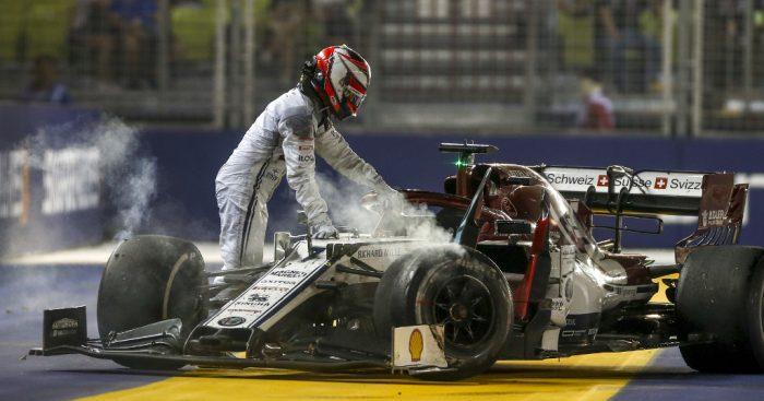 Kimi Raikkonen didn't see Kyvat until it was 'too late'