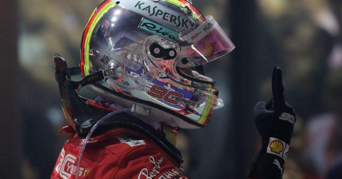 Sebastian Vettel: Ferrari are only back when we have the title