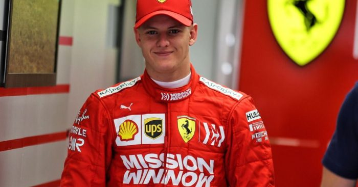 Only a matter of time before Mick Schumacher moves up to F1
