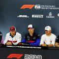 FIA driver press conference - Russia