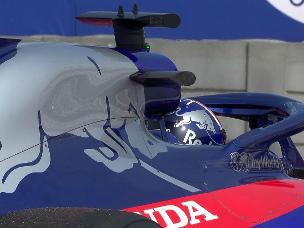 Daniil Kvyat Toro Rosso Honda