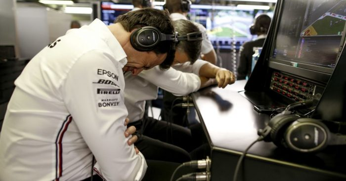 """Toto Wolff admits that the Mercedes package is """"just not enough"""" anymore against Ferrari."""