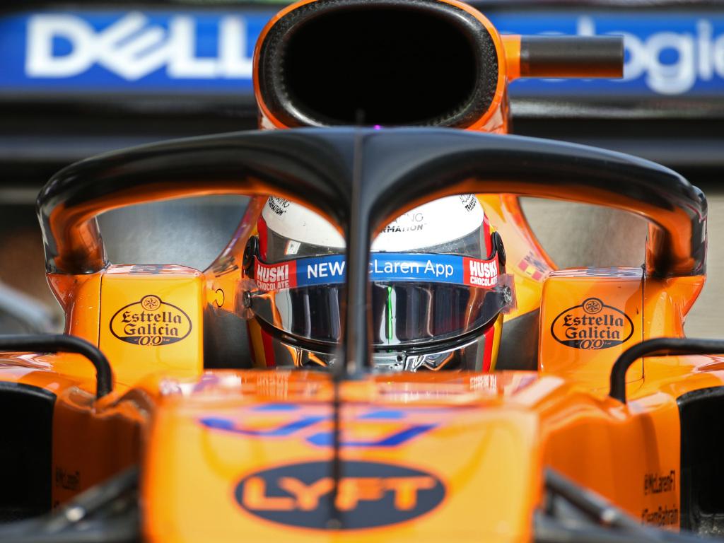 Carlos Sainz in his McLaren