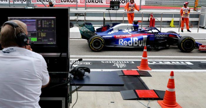 Toro Rosso Daniil Kvyat