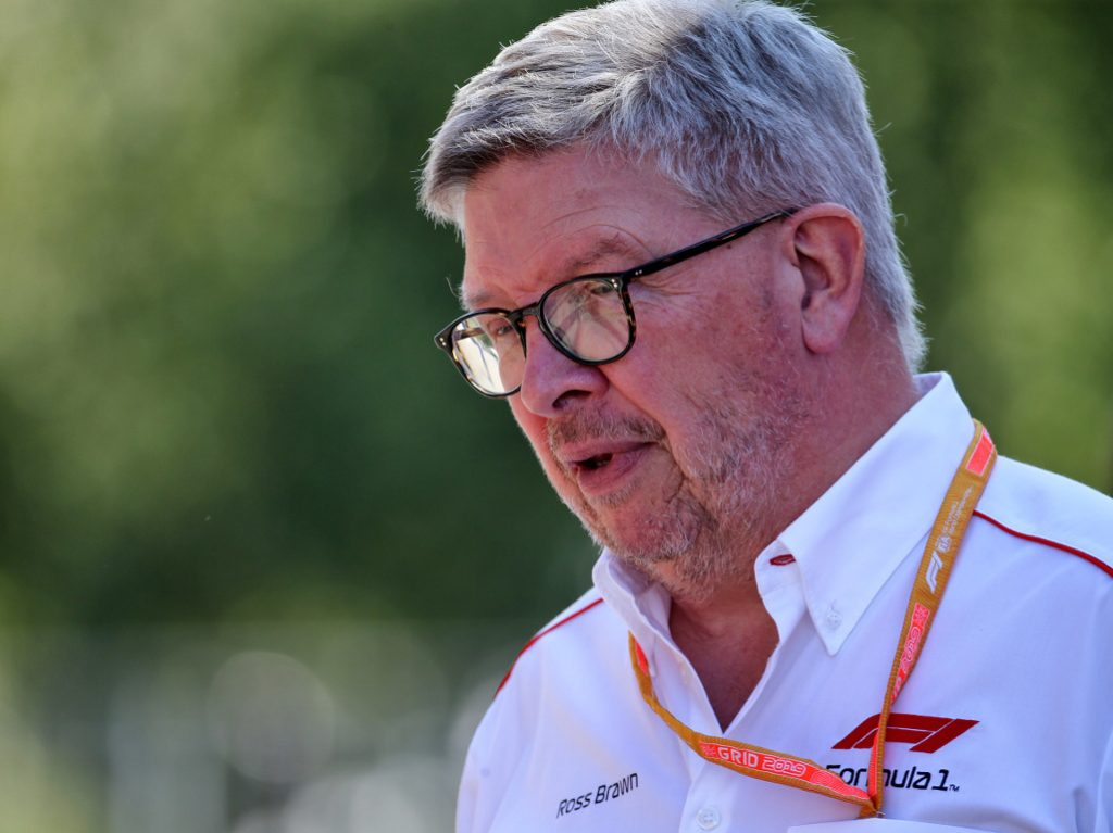 "Ross Brawn thinks Carlos Sainz must be feeling ""nervous"" about next year's move to a Ferrari team whose Belgian Grand Prix performance was ""horrific"""