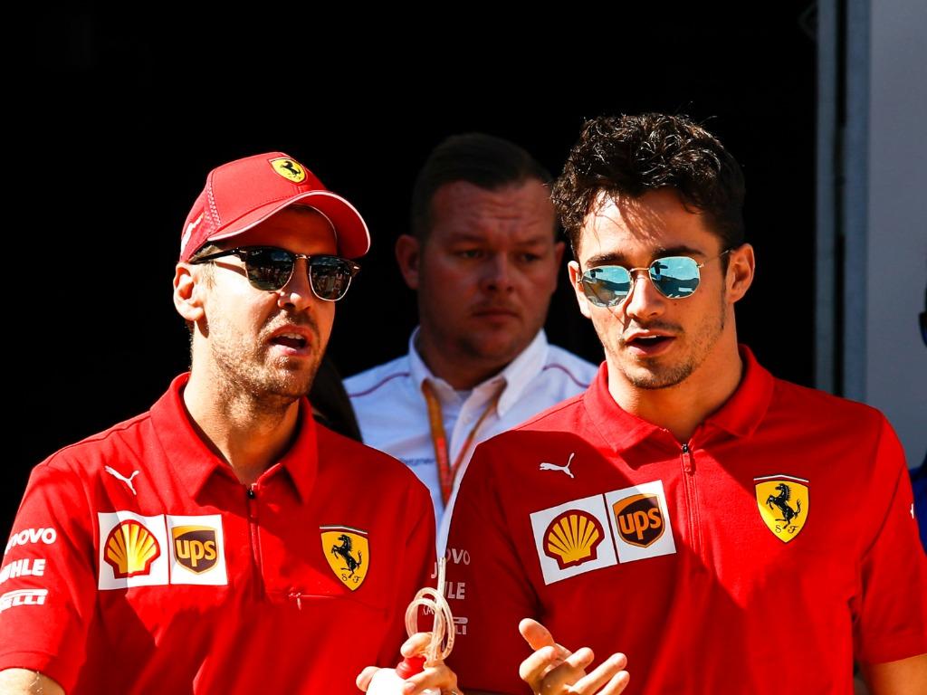 Russian Grand Prix driver ratings for Sebastian Vettel and Charles Leclerc Ferrari