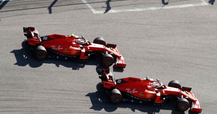 Ferrari planned to swap but not through undercut
