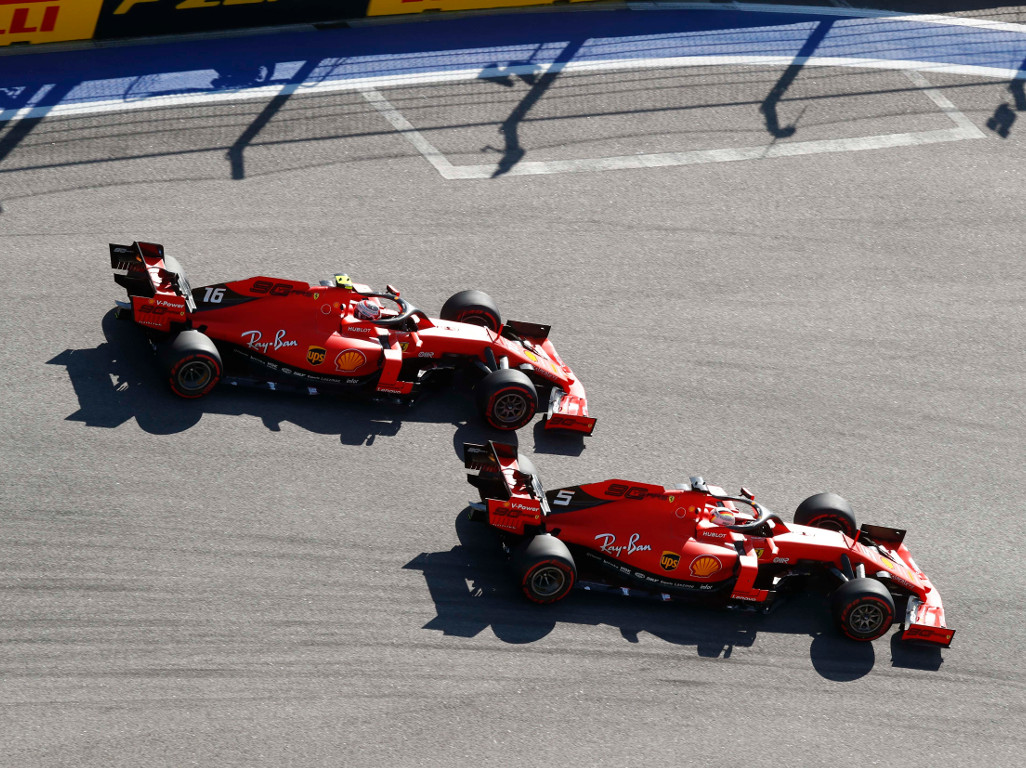 Ferrari planned to swap but not through undercut