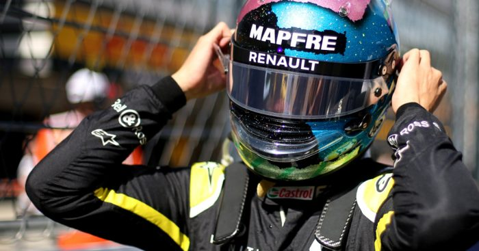 Renault expecting a few fireworks between Daniel Ricciardo and Esteban ocon.