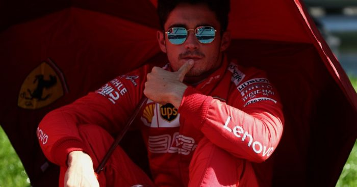 Charles Leclerc failed to take his own advice.