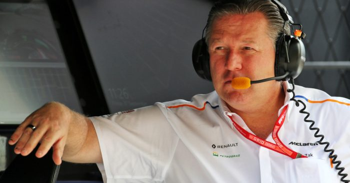McLaren F1 CEO Zak Brown on deal with Mercedes