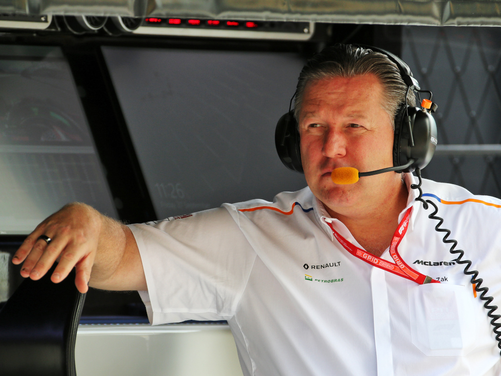McLaren F1 CEO Zak Brown