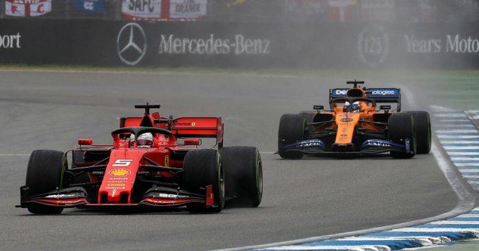 McLaren Ferrari PA