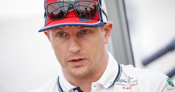 Kimi Raikkonen believes F1 can't cope with wet races anymore because of the tyres.