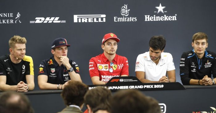 FIA driver press conference - Japanese GP.