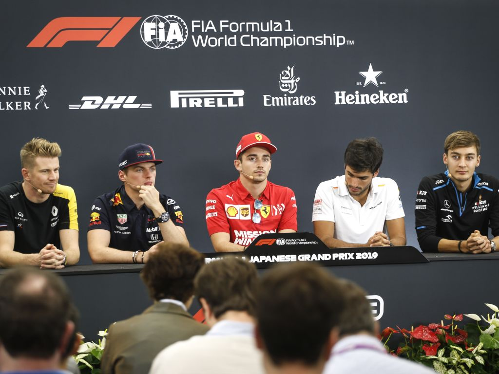 FIA driver press conference - Japanese GP.