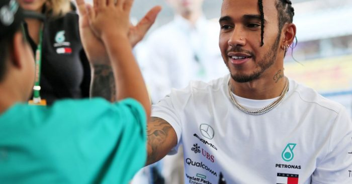 Lewis Hamilton feels the revised Japanese GP schedule is better than the normal one.