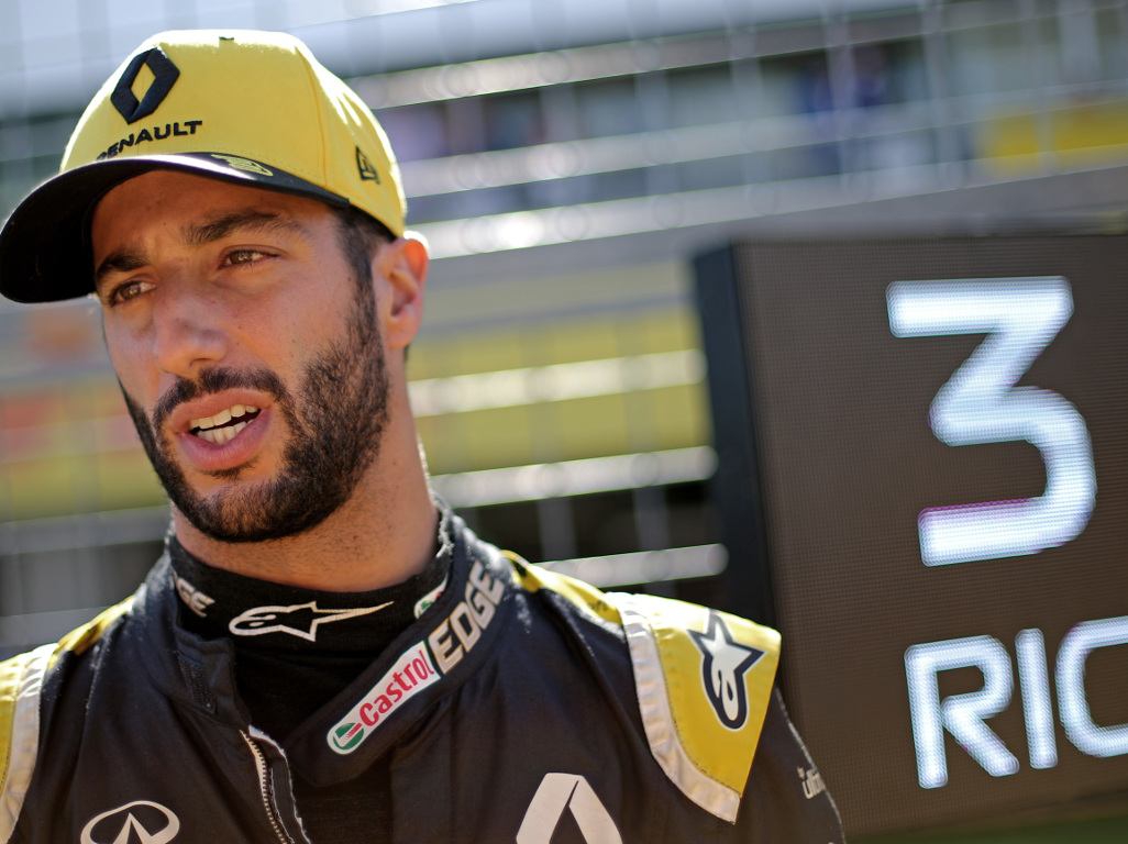 "Daniel Ricciardo is looking to ""nail"" Renault's targets for 2020."