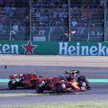 Charles Leclerc accepts blame for Max Verstappen crash.