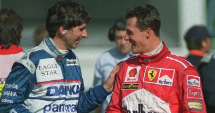 Damon Hill on 'po-faced, chin jutting' Michael Schumacher