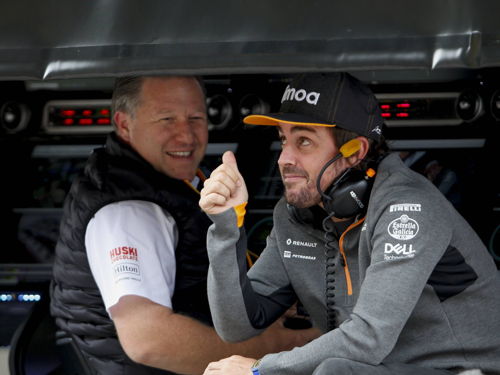 """Fernando Alonso has the """"idea"""" to return to F1 after Dakar and Indy 500."""
