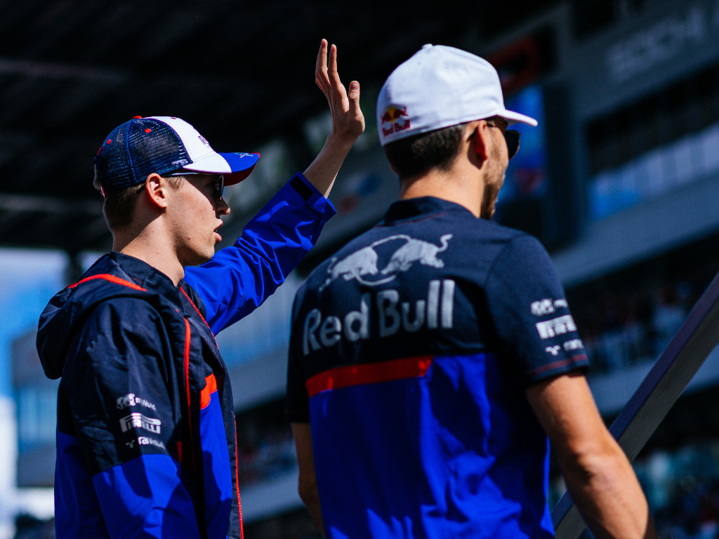 "Daniil Kvyat sees himself as a ""living example"" to Pierre Gasly that a driver can recover at Red Bull."