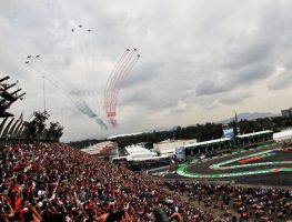 Mexican GP flyby