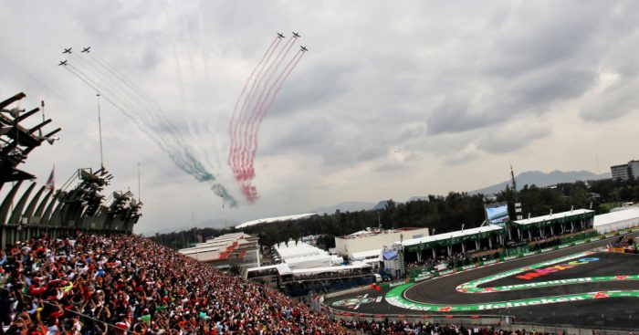Mexican Grand Prix flyby