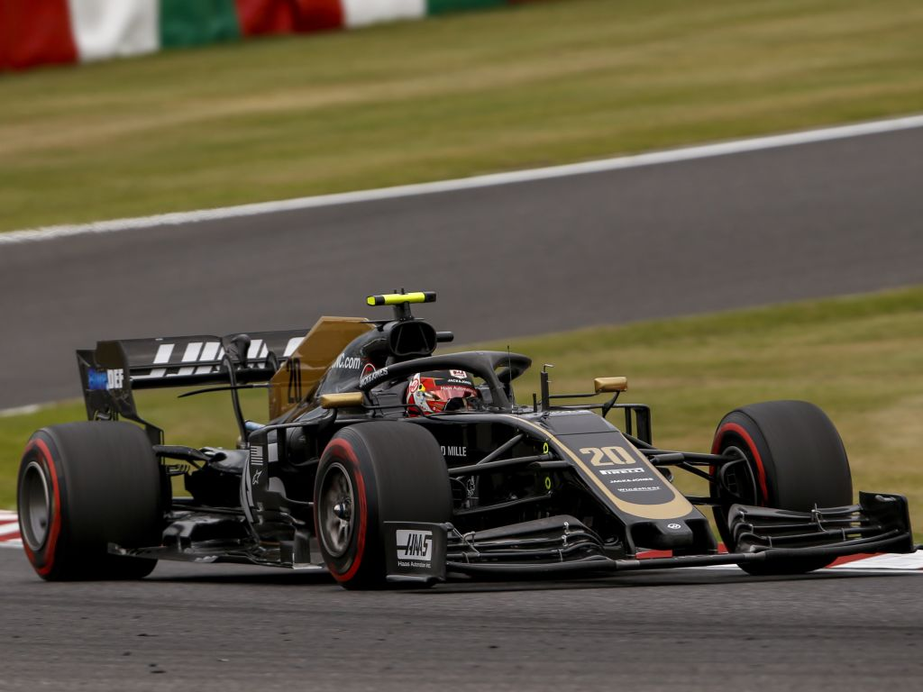 """Kevin Magnussen says the modern F1 cars have an """"endless amount of grip""""."""