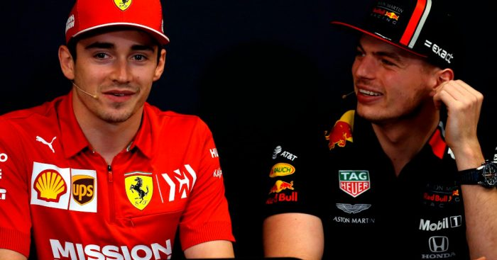 Charles Leclerc and Max Verstappen future of F1