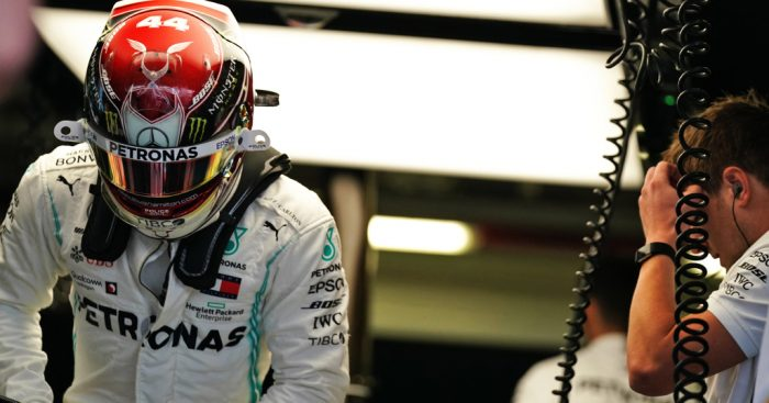 FP1: Lewis Hamilton quickest as Lance Stroll brings out the reds
